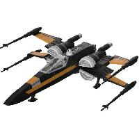 Navette Spatiale A Construire - Vaisseau A Construire REVELL SW Poe's Boosted X-Wing Fighter 06763 Star Wars Gamme Build & Play