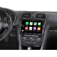 Navigations & Cartographies i902D-G6 Systeme multimedia 9p Apple Carplay Android auto VW Golf 6 ap08