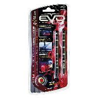 Neons & LEDs flexibles 2 Bandes Led Ultrabright Rouge 10CM EvoFormance