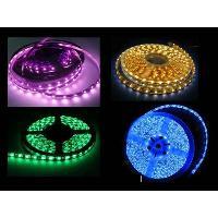 Neons & LEDs flexibles 2 bandes LED 50CM 25 SMD 3528 eclairage Jaune - ADNAuto
