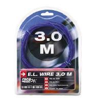 Neons & LEDs flexibles Fil neon - Effet Flash - 1.5m - Bleu Generique