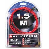 Neons & LEDs flexibles Fil neon - Effet Flash - 3m - Rouge