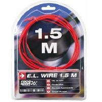 Neons & LEDs flexibles Fil neon - Effet Flash - 3m - Rouge Generique
