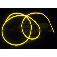 Neons & LEDs flexibles Neon Filaire - 1m - Jaune - Fibre optique - 12V - 666-CaL - ADNAuto