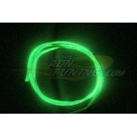 Neons & LEDs flexibles Neon Filaire - 1m - Vert - Fibre optique - 12V - 666-CaL - ADNAuto
