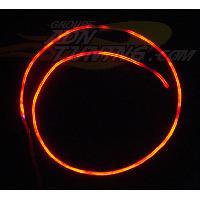 Neons & LEDs flexibles Neon Filaire - 60cm - Rouge - Fibre optique - 12V - 666-CaL - ADNAuto
