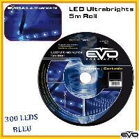Neons & LEDs flexibles Rouleau Led 5M Bleu Etanche - ADNAuto