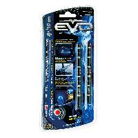 Neons & lumieres 2 Bandes Led Ultrabright Bleu 10CM EvoFormance