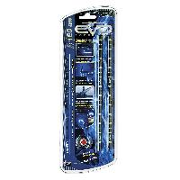 Neons & lumieres 2 Bandes Led Ultrabright Bleu 20CM - ADNAuto