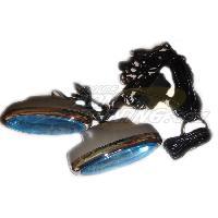 Neons & lumieres 2 Stroboscopes LED - Bleu - NA32BL - 12V