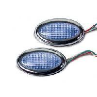 Neons & lumieres 2 stroboscopes - Bleu - NA31BL - 12V Generique