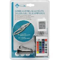 Neons & lumieres Bande 30 Leds multicouleur 100cm 12-24v avec telecommande