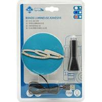 Neons & lumieres Bande flex. adh. 48 Leds 2m 1224V USB - Blanc
