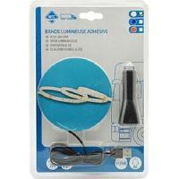 Neons & lumieres Bande flex. adh. 48 Leds 2m 1224V USB - Blanc - ADNAuto