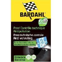 Nettoyage - Liquides Entretien BARDAHL Pass' Controle technique moteur Essence 2020