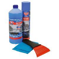 Nettoyage - Liquides Entretien Kit HIVER LAVE-GLACE + DEGIVRANT + GRATTE-GIVRE + CHIFFON ANTI-BUEE