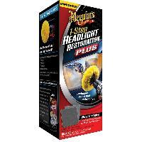 Nettoyants Kit renovation Meguiars G1900 compatible avec phares et optiques