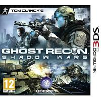 New 3ds - 3ds Xl Ghost Recon Shadow Wars Jeu 3DS