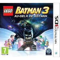 New 3ds - 3ds Xl LEGO Batman 3 Au Dela de Gotham Jeu 3DS - Warner Games