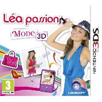 New 3ds - 3ds Xl Lea Passion Mode 3D Jeu 3DS