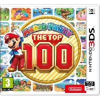 New 3ds - 3ds Xl Mario Party The Top 100 - Jeu 3DS