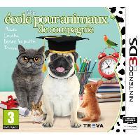New 3ds - 3ds Xl Mon ecole pour animaux de compagnie Jeu 3DS