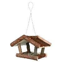 Nichoir - Nid NATURAL LIVING Mangeoire pour oiseaux 32 x 23 x 20 cm naturel Trixie