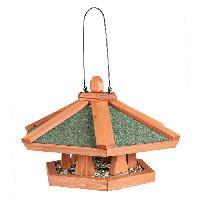 Nichoir - Nid NATURA Mangeoire suspendue pour oiseaux 42 x 24 cm naturel