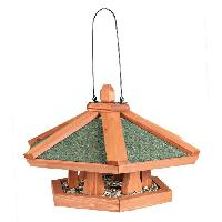 Nichoir - Nid NATURA Mangeoire suspendue pour oiseaux o 42 x 24 cm naturel Trixie