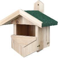 Nichoir - Nid TRIXIE Nichoir nicheurs de semi-cavités. 25 × 31 × 21 cm - Pour oiseau