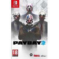Nintendo Switch Payday 2 Jeu Switch - 505 Games