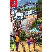 Nintendo Switch Roller Coaster Tycoon Jeu Switch - Bigben