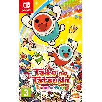 Nintendo Switch Taiko no tatsujin Jeu Nintendo Switch