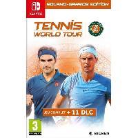 Nintendo Switch Tennis World Tour Roland Garros Jeu Switch - Bigben