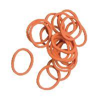 Noeuds - Barrettes - Elastiques Elastiques a criniere pour cheval - Orange