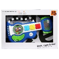 Nurserie  BABY EINSTEIN Guitare lumineuse pour petits rockeurs  Rock. Light & Roll Guitar? - Bleu