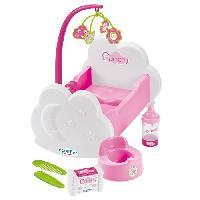 Nurserie  ECOIFFIER - 2873 - Lit + accessoires