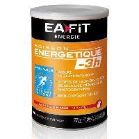 Nutrition Sportive Boisson énergétique -3H - Fruits rouges - 500 g - Eafit