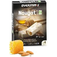 Nutrition Sportive OVERSTIMS - Nougat Bio (4 barres)