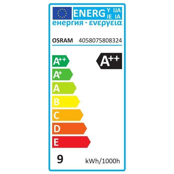 OSRAM-Ampoule-LED-filament-standard-E27-O6cm-2700K-8-5W-75W-1055-Lumens-Dimmable miniature 4
