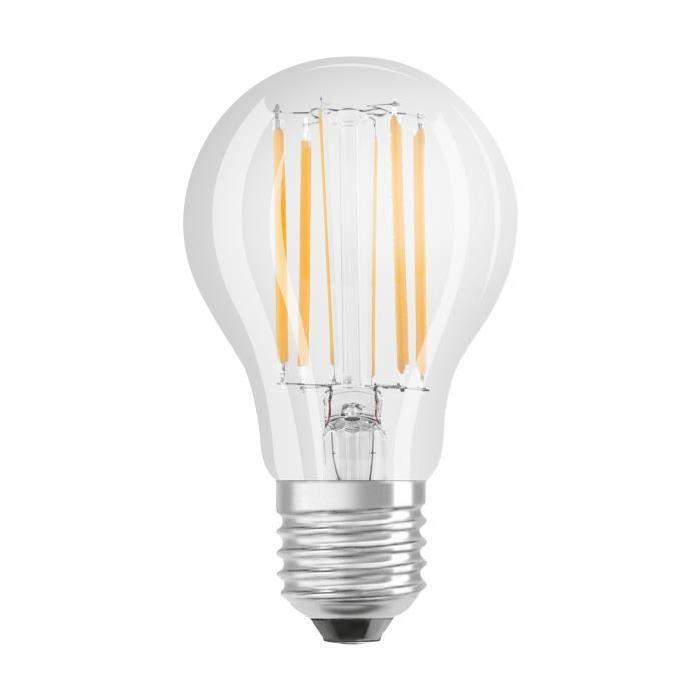 OSRAM-Ampoule-LED-filament-standard-E27-O6cm-2700K-8-5W-75W-1055-Lumens-Dimmable miniature 3