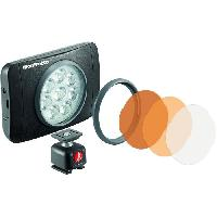 Objectif - Flash - Zoom MANFROTTO Lumie Muse 8 Torche LED - Avec accessoires