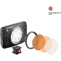 Objectif - Flash - Zoom MANFROTTO Lumie Muse 8 Torche LED Bluetooth - Avec accessoires