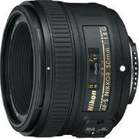 Objectif - Flash - Zoom NIKON AF-S NIKKOR 50mm f/1.8 G Objectif pour appareil photo numérique Reflex