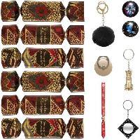 Objet De Decoration - Bibelot Boîte de 6 crackers festifs motif jungle - 20 cm