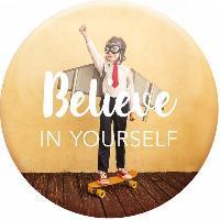 Objet De Decoration - Bibelot Magnet Believe in yourself - Draeger