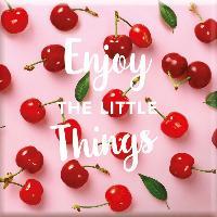 Objet De Decoration - Bibelot Magnet Enjoy the little things - Draeger