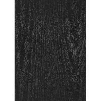 Objet De Decoration Murale ALKOR Film adhesif decoratif imitation bois - 200x45 cm - Noir