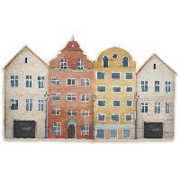 Objet De Decoration Murale Decoration murale en bois - Amsterdam