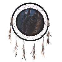 Objet Decoratif Attrape-reves balai magique 60 cm - MID